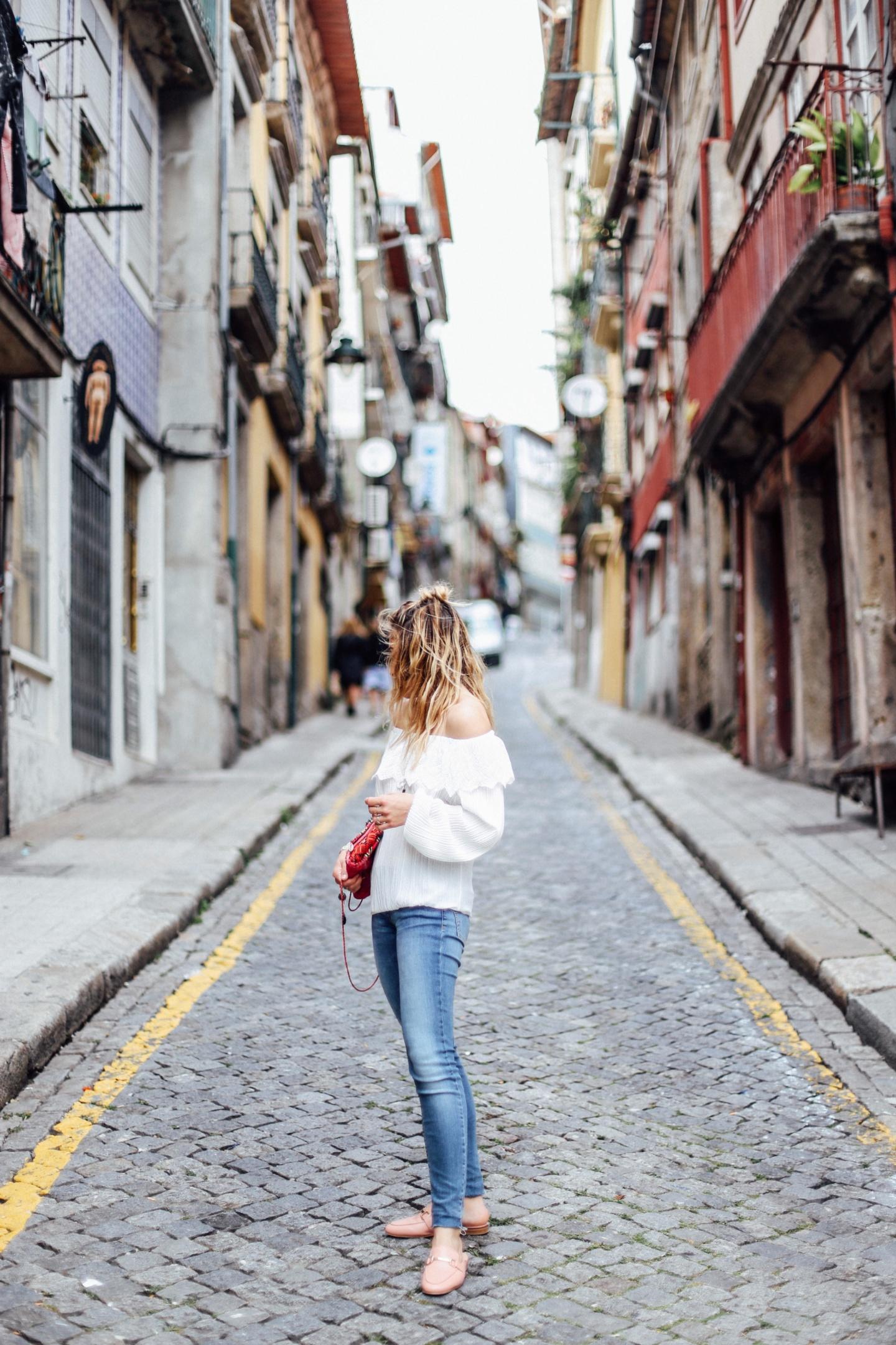 Dans les rues de Porto