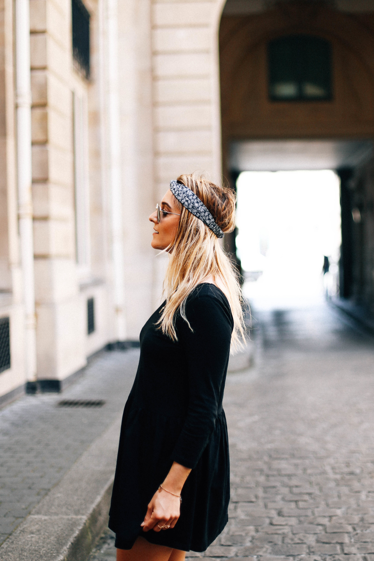 Robe noire Chicwish