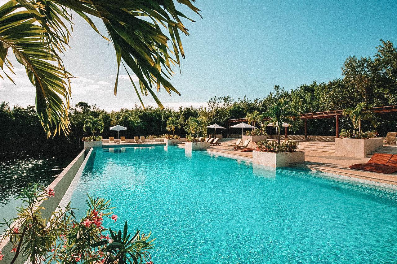 hôtel de luxe Mexique