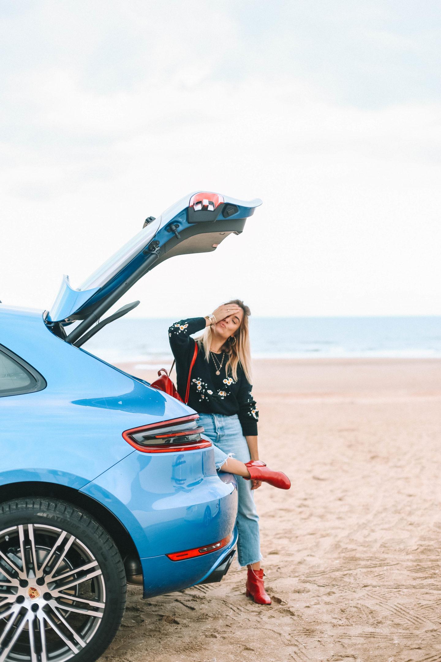Porsche - Blondie Baby blog mode et voyages