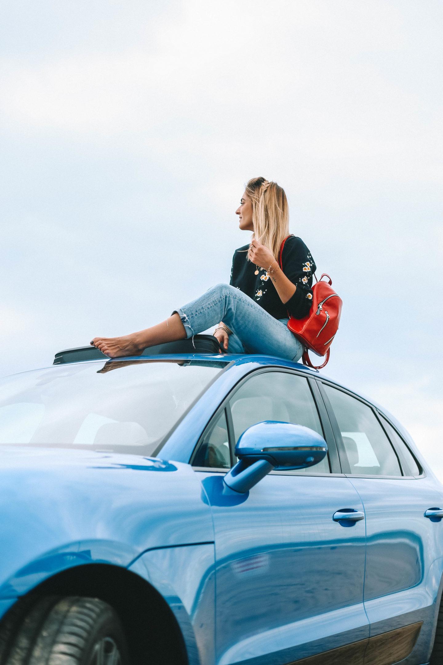 Porsche Macan - Blondie Baby blog mode et voyages