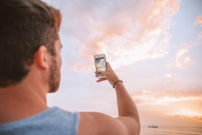 Coucher de soleil Holbox - Blondie baby blog mode et voyages
