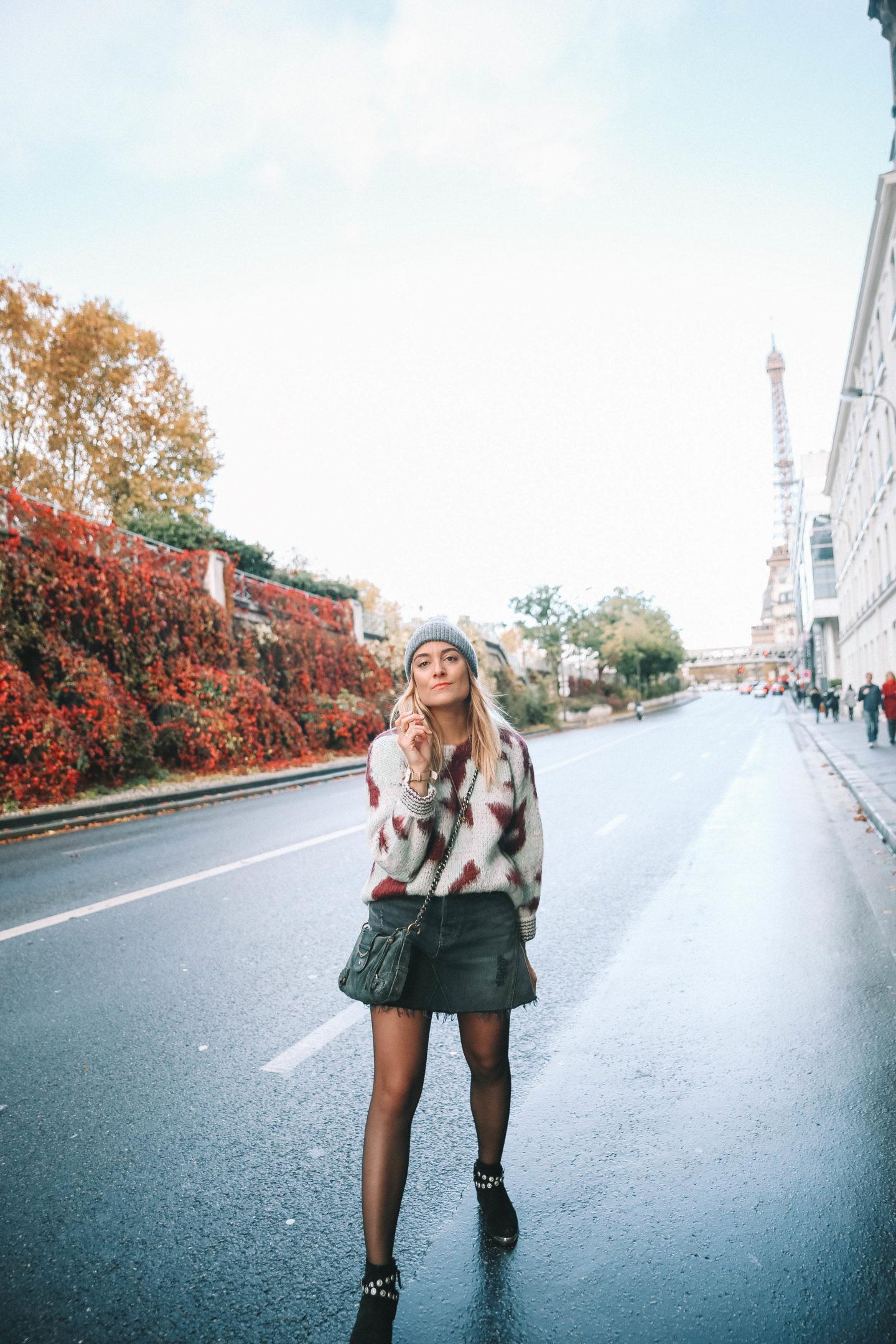 Jupe en jean Revolve - Blondie baby blog mode et voyages