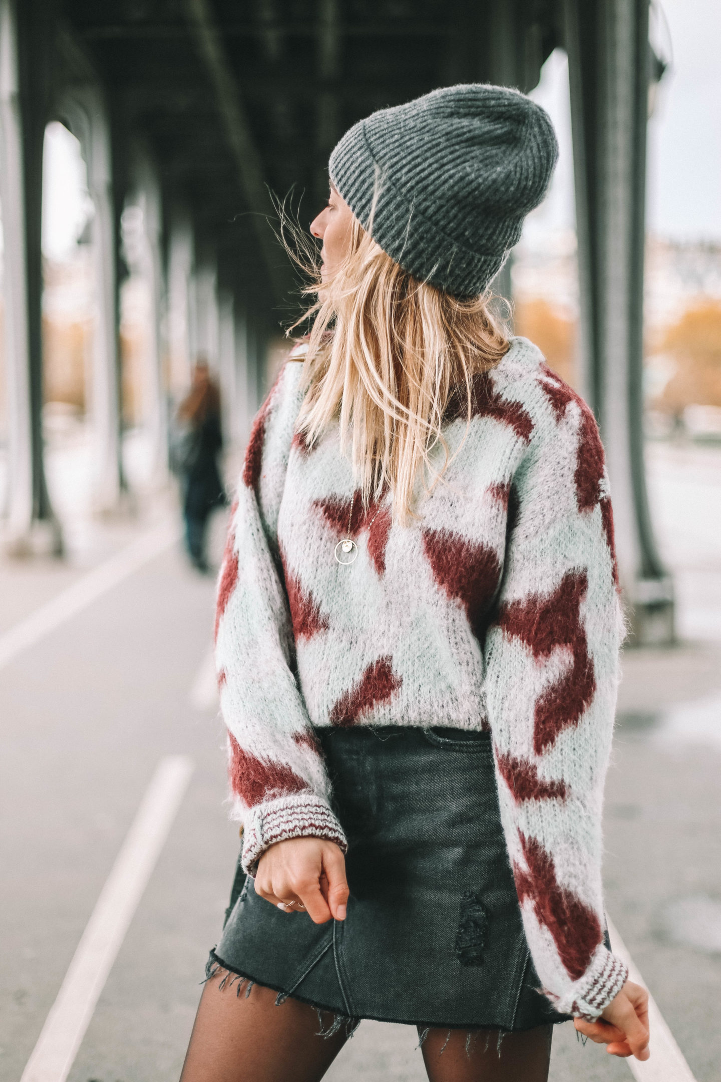 Bonnet gros Asos - Blondie baby blog mode et voyages