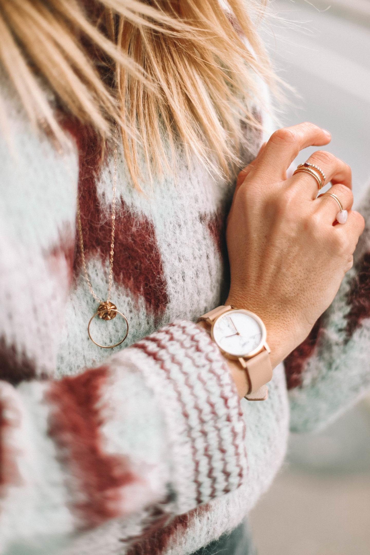 Montre Cluse Marbre - Blondie baby blog mode et voyages