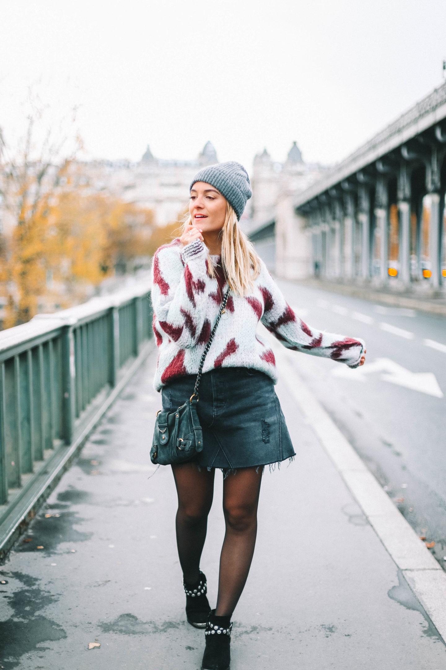 Pont de Bir Hakeim - Blondie baby blog mode et voyages