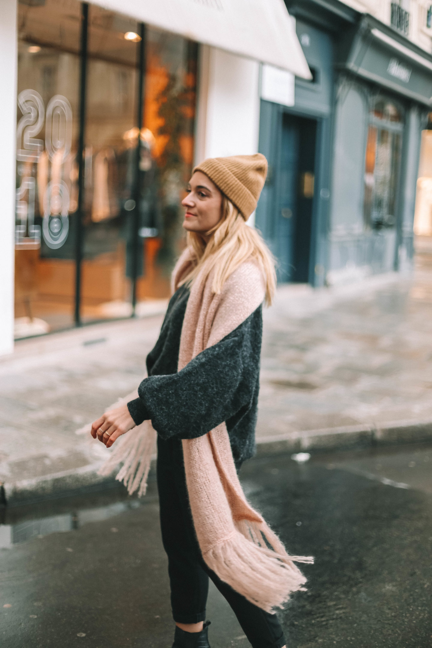 Pull oversize - Blondie baby blog mode et voyages