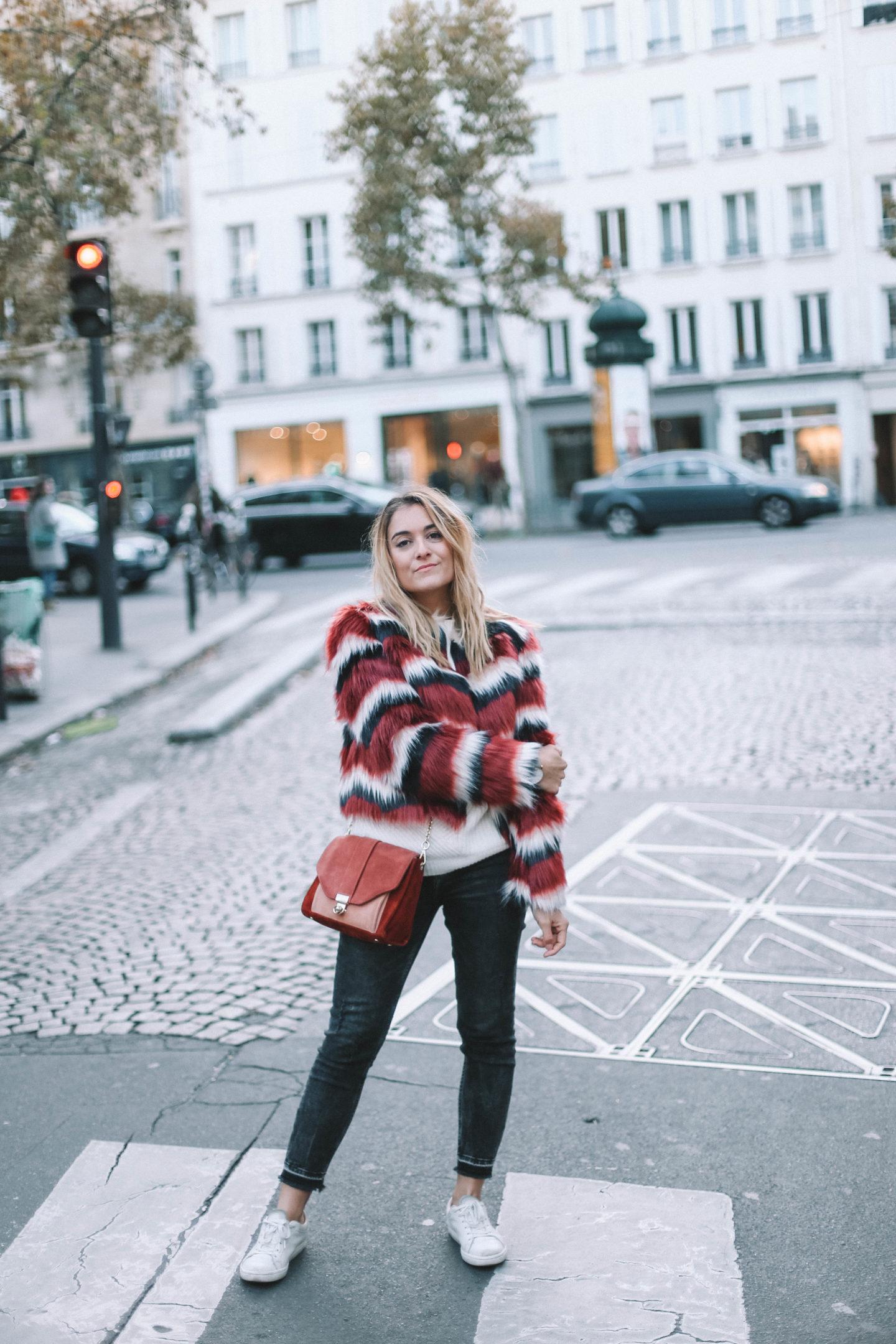 Fausse Fourrure Revolve Clothing - Blondie Baby blog mode et voyages