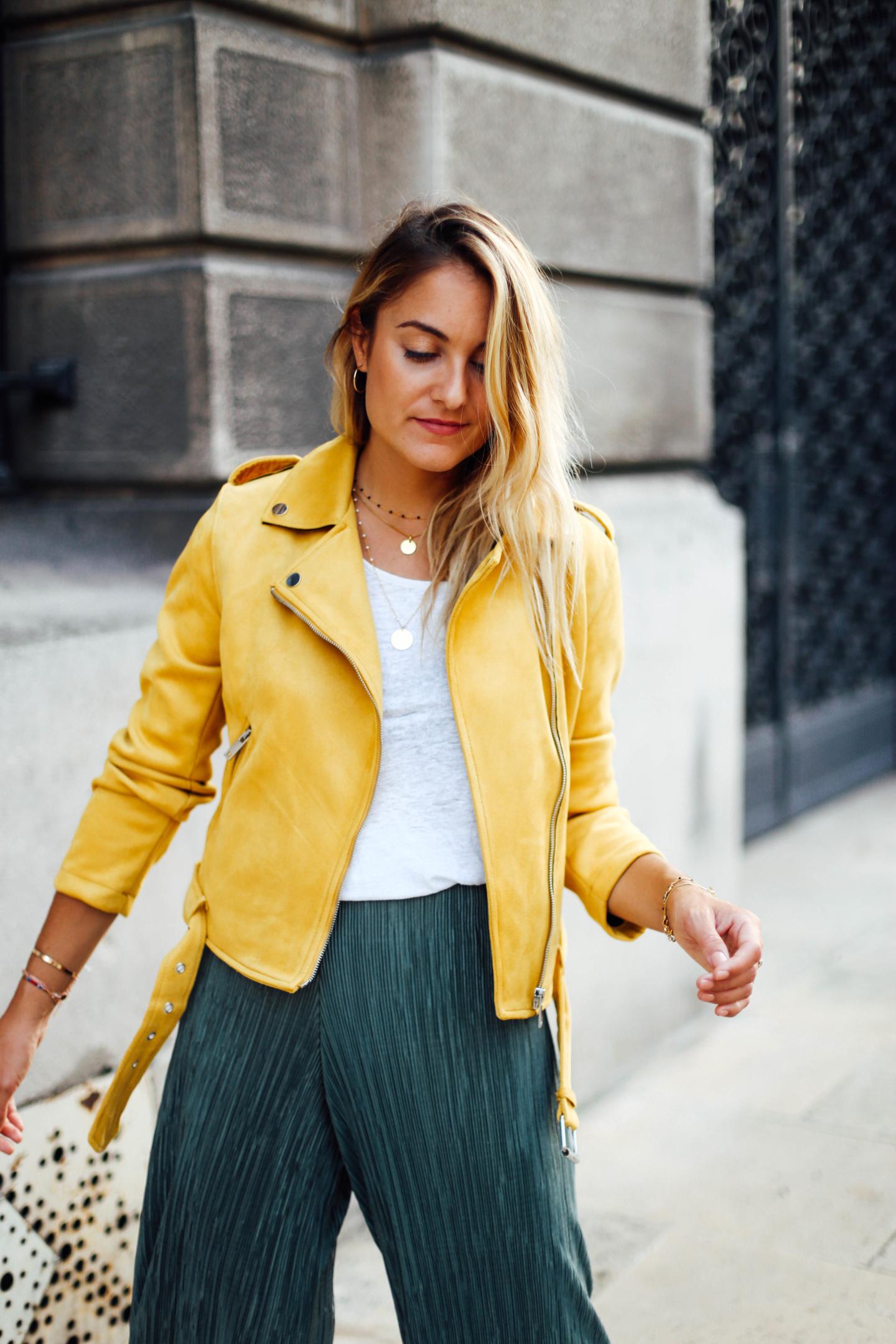 Perfecto jaune Primark