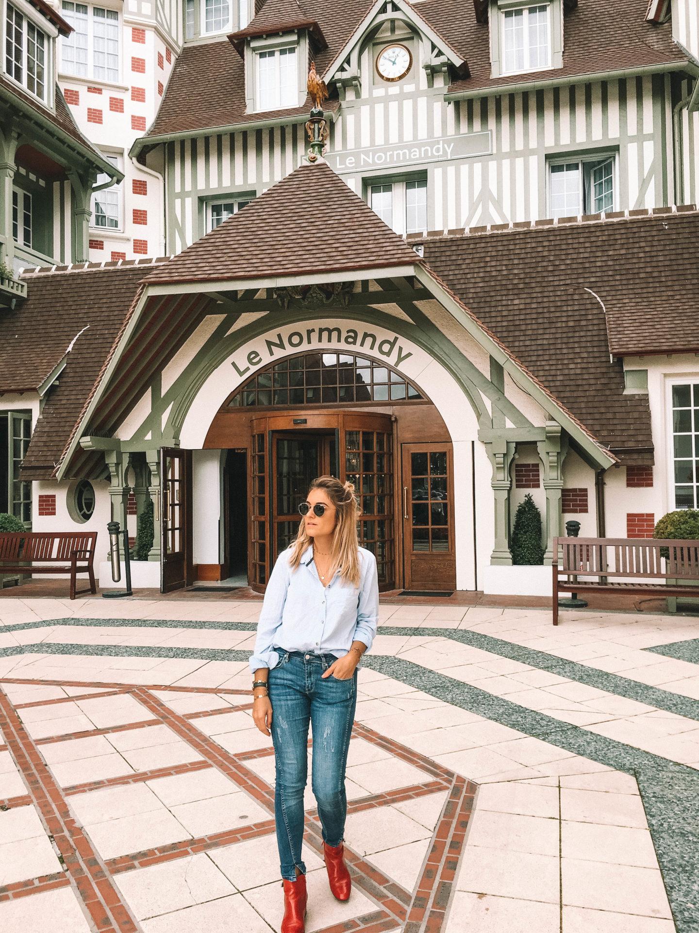 Normandy Barrière Deauville - Blondie Baby blog mode et voyages