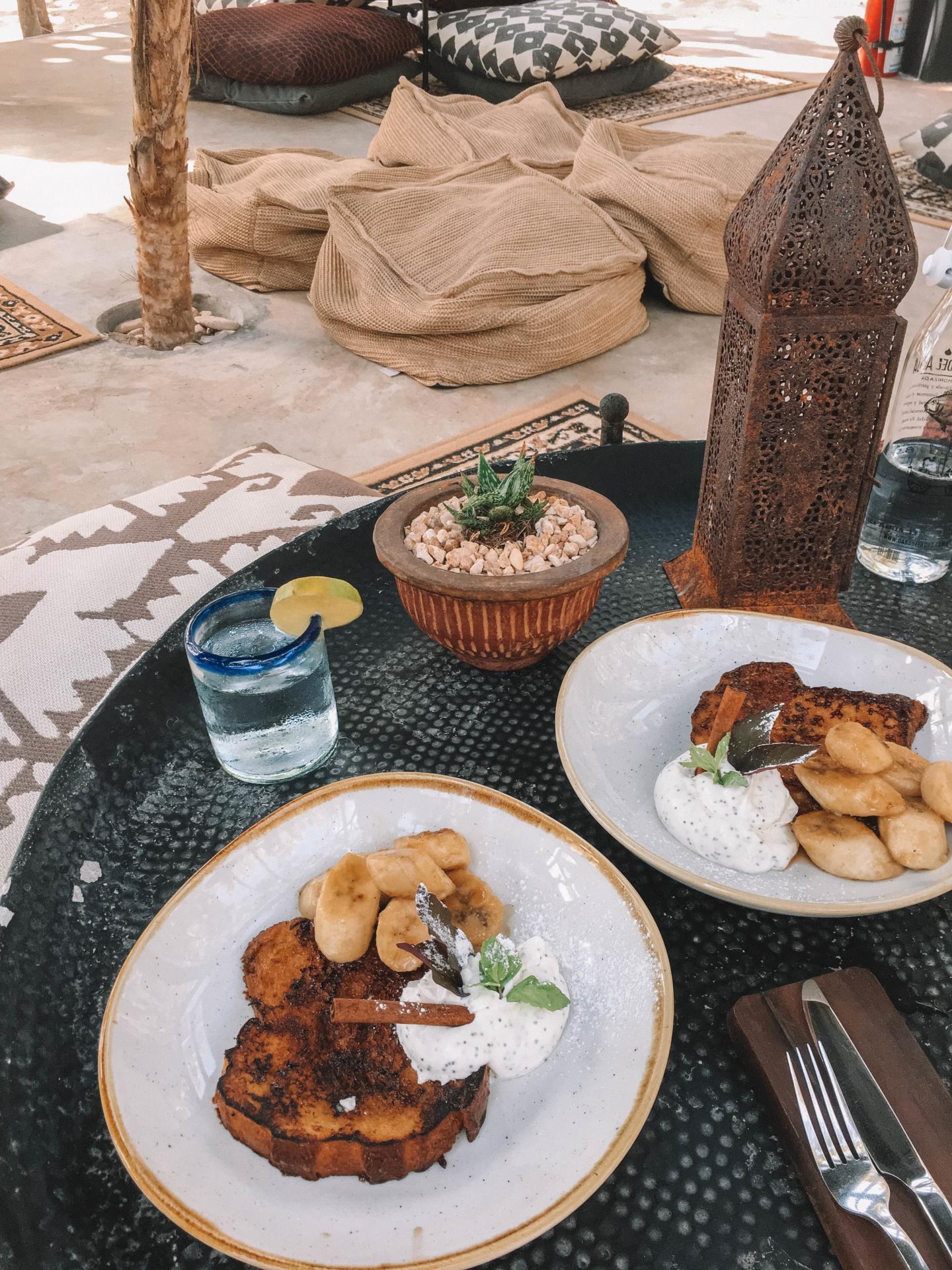 Petit déjeuner Tulum