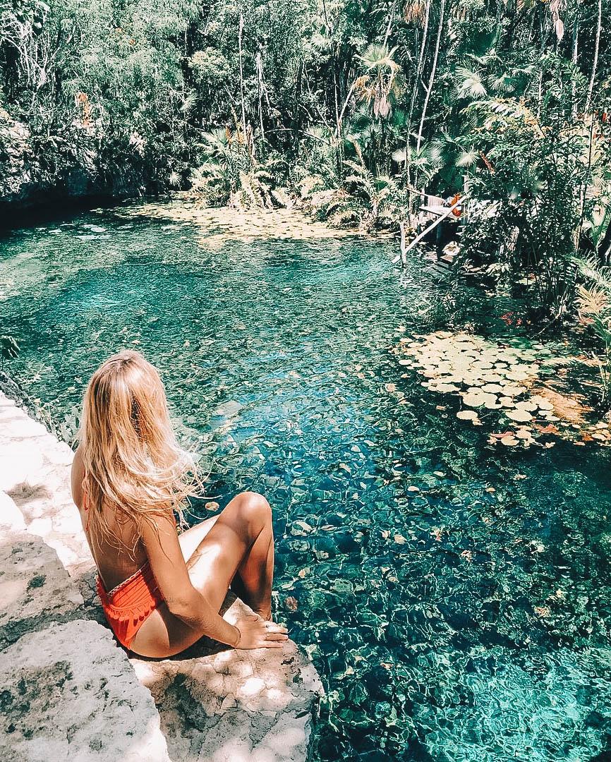 Cenote Nicte-Ha Tulum