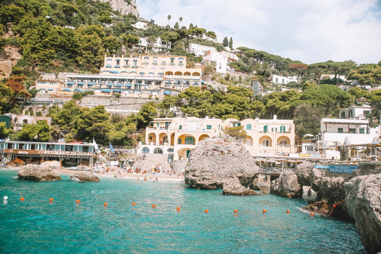 Plage à Capri - Blondie baby blog mode et voyages