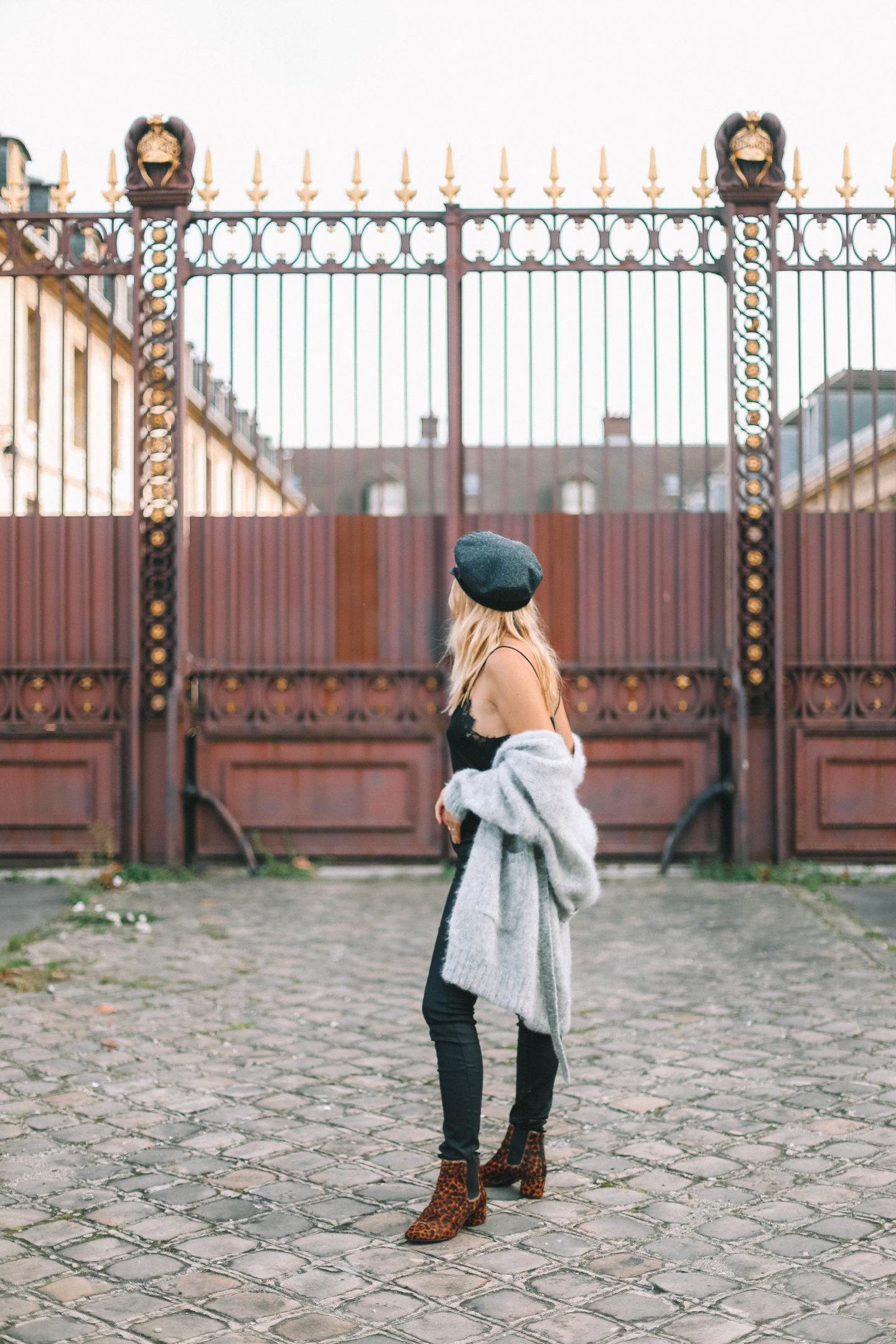 Gilet en laine American Vintage - Blondie baby blog mode et voyages