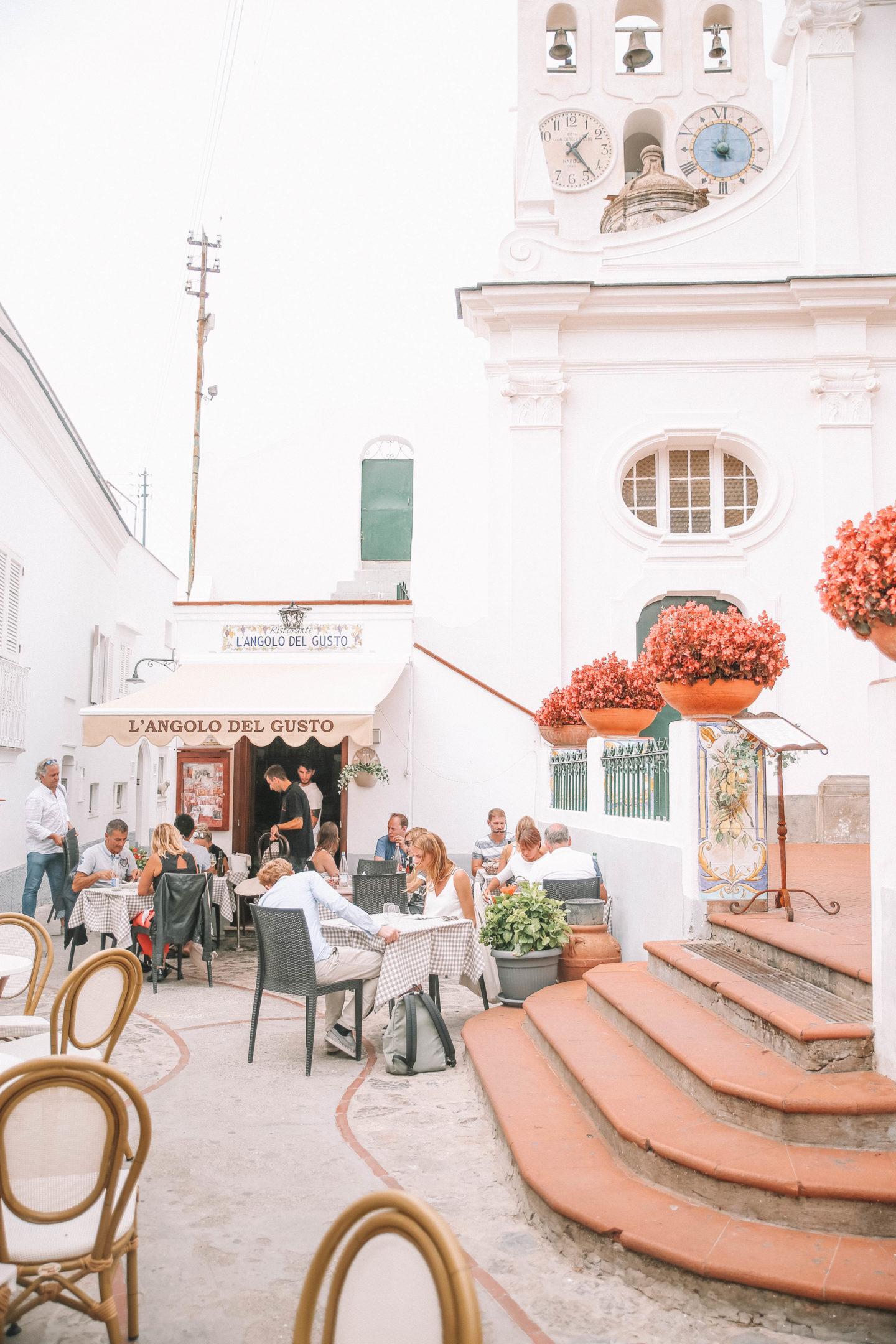Restaurants Anacapri - Blondie baby blog mode et voyages