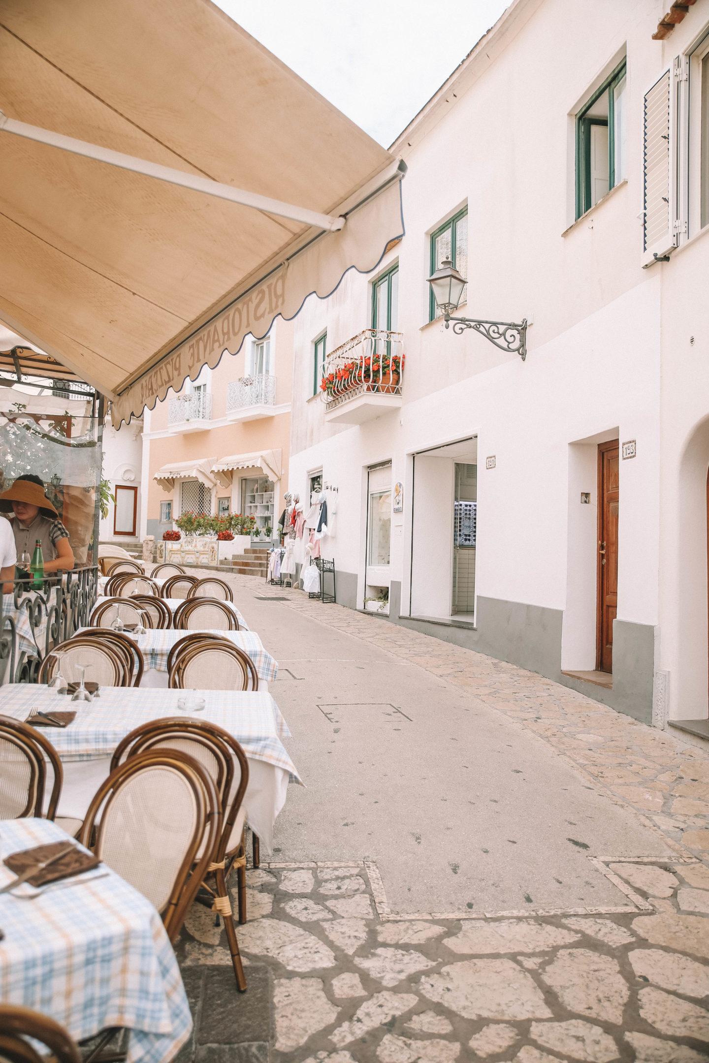Que faire à Capri - Blondie baby blog mode et voyages