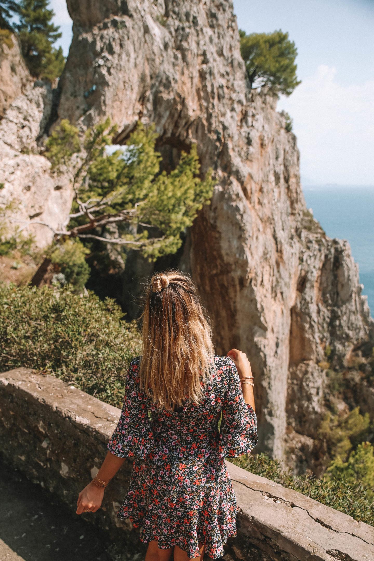 Arco naturale Capri - Blondie baby blog mode et voyages