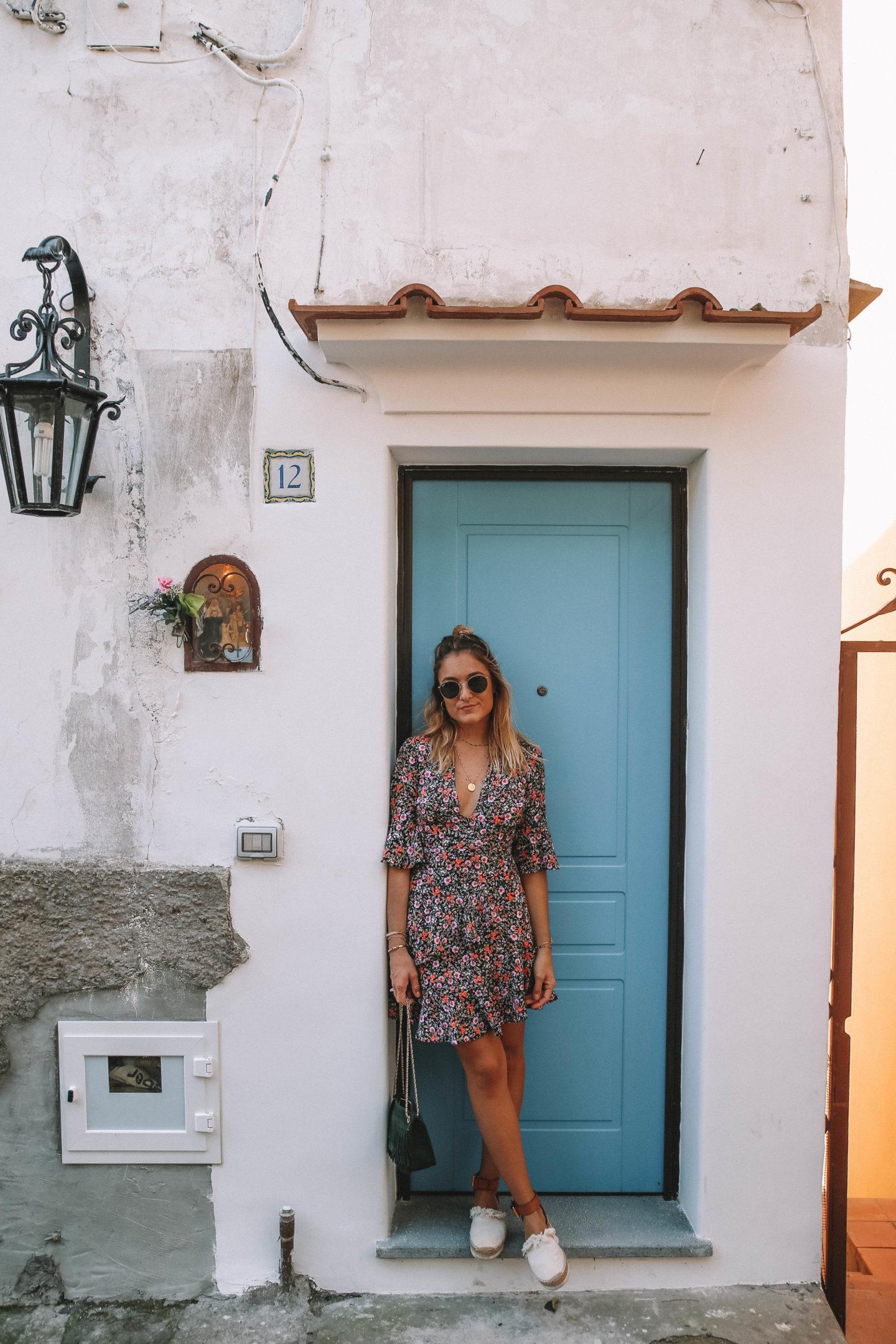Robe à fleurs - Blondie baby blog mode et voyages