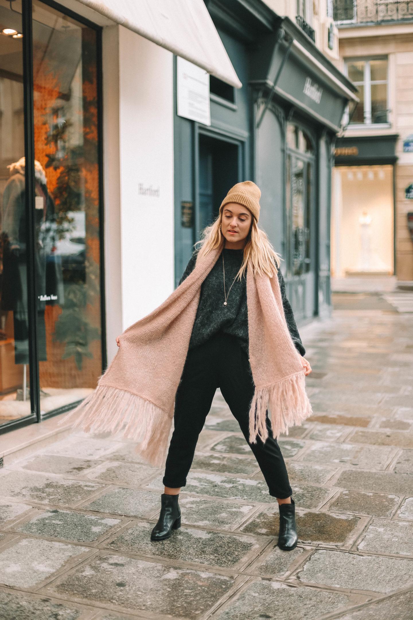 Pull oversize American Vintage - Blondie baby blog mode et voyages