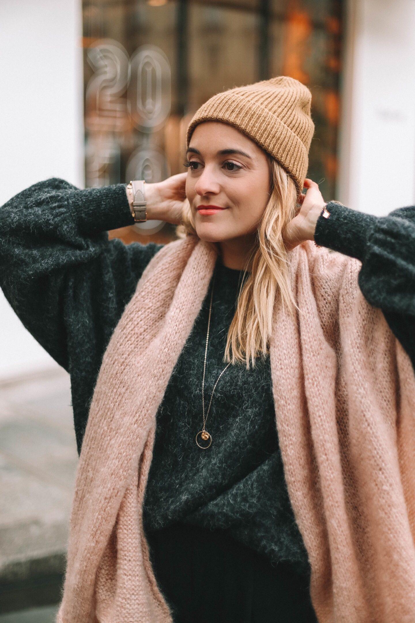 Bonnet Camel h&m - Blondie baby blog mode et voyages