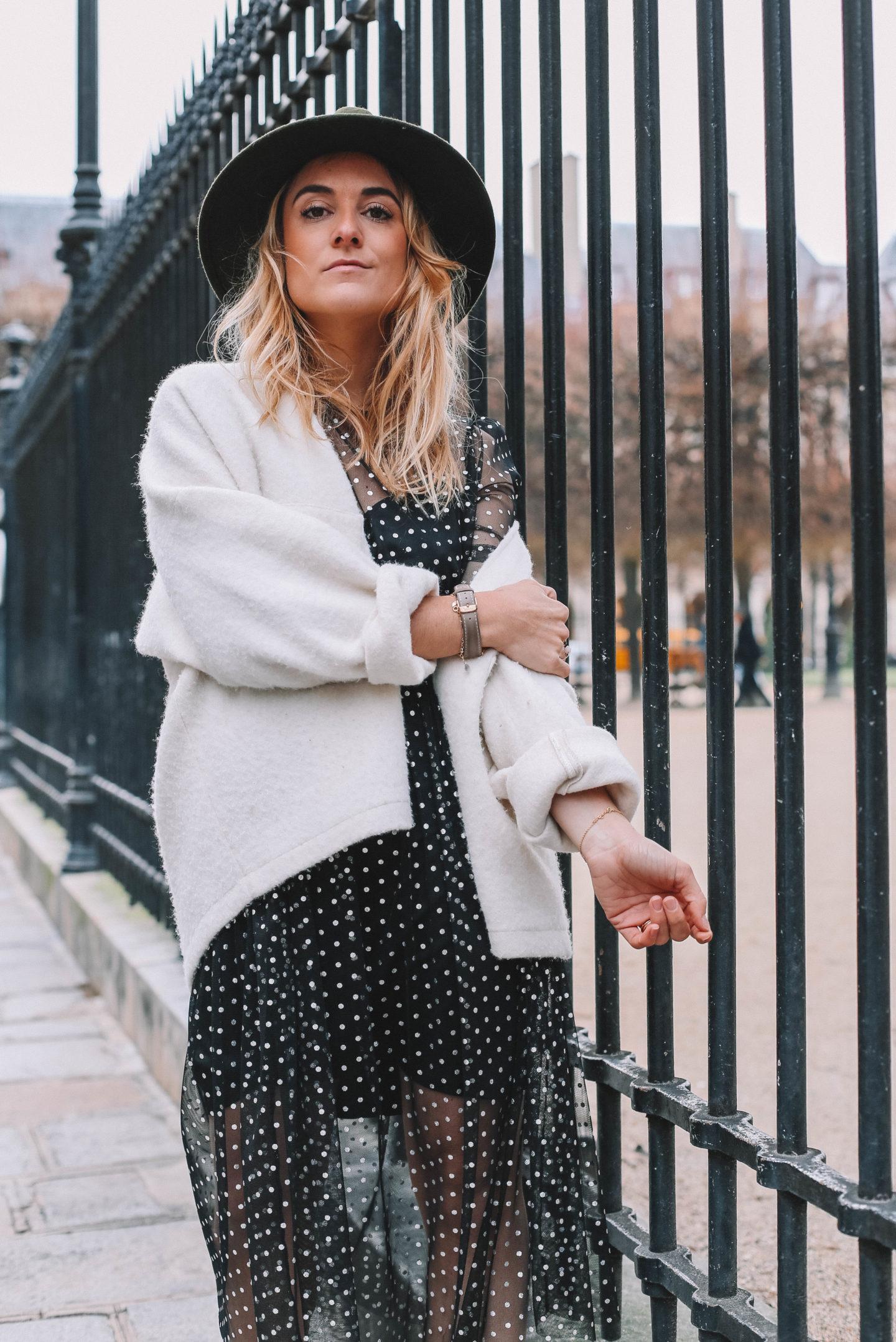 Gilet blanc Lei 1984 - Blondie Baby blog mode et voyages