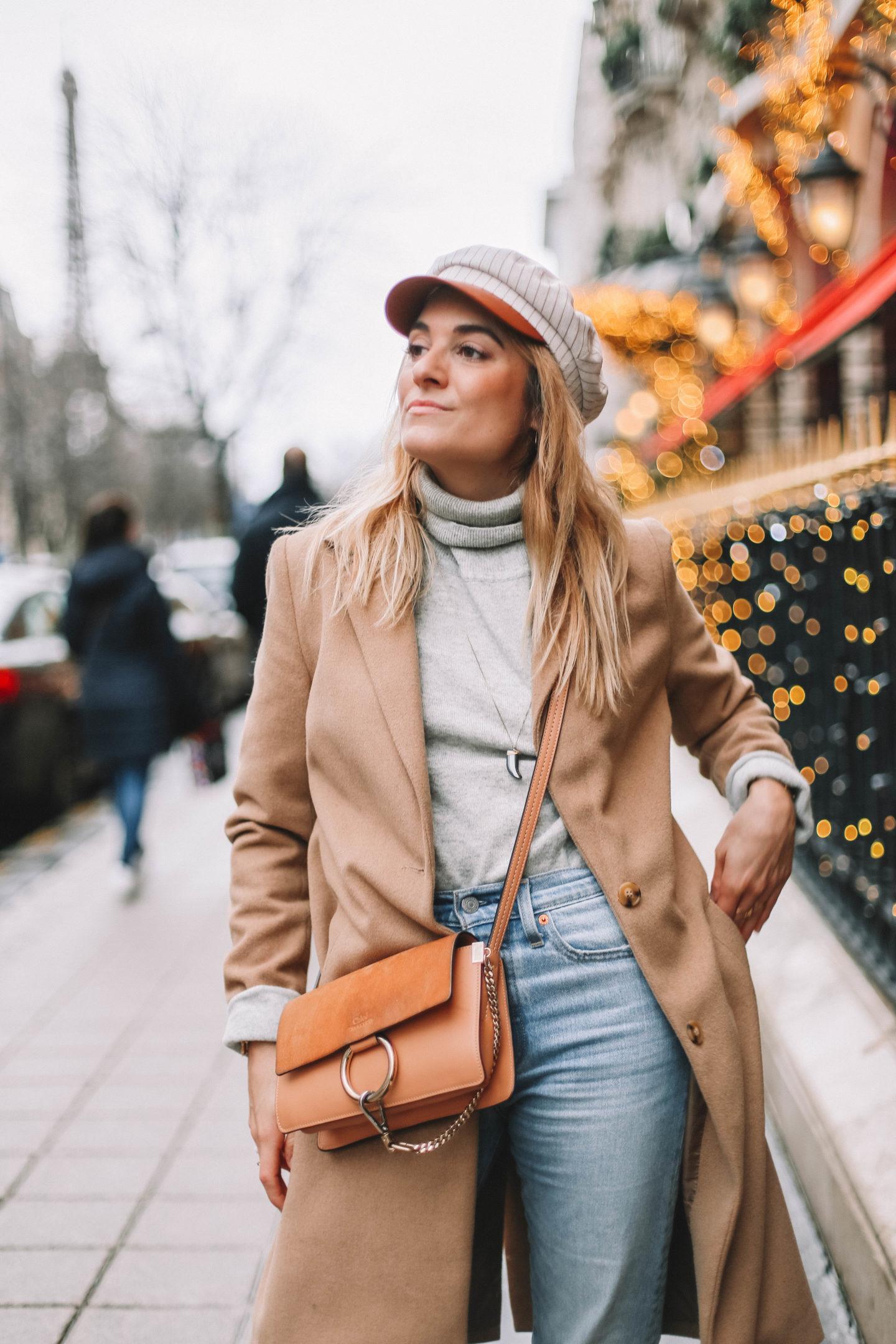 Manteau Camel - Blondie Baby blog mode et voyages