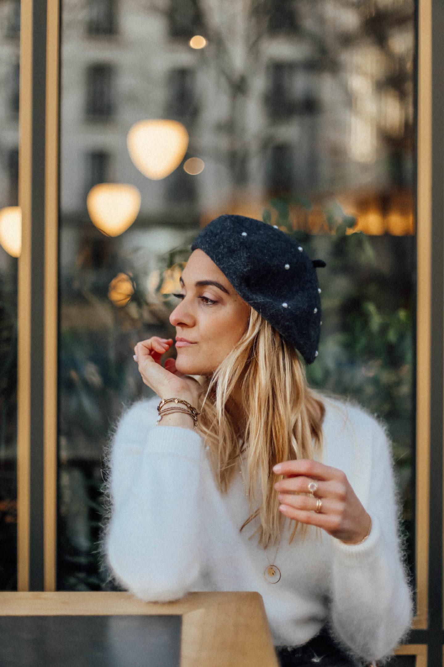 Pull Angora Anamour Paris - Blondie Baby blog mode et voyages