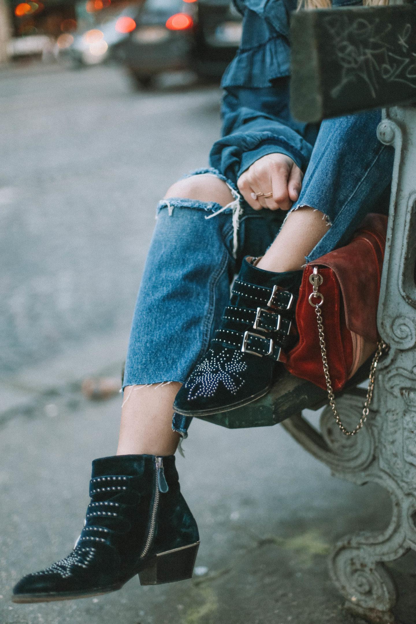 Boots Cloé Susanna - Blondie Baby blog mode & voyages