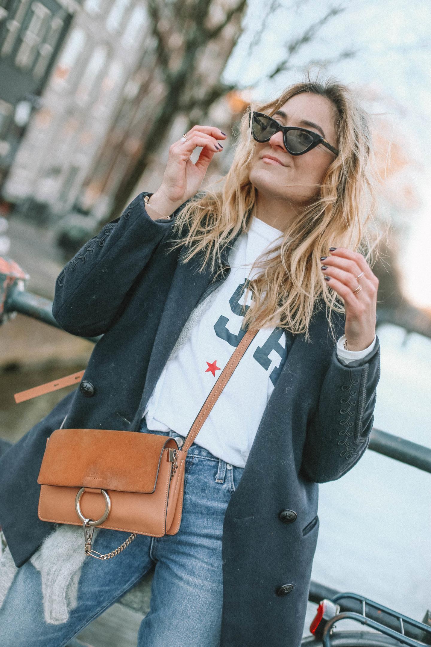 Lunette de soleil cat-eye Mango - Blondie baby blog mode et voyages