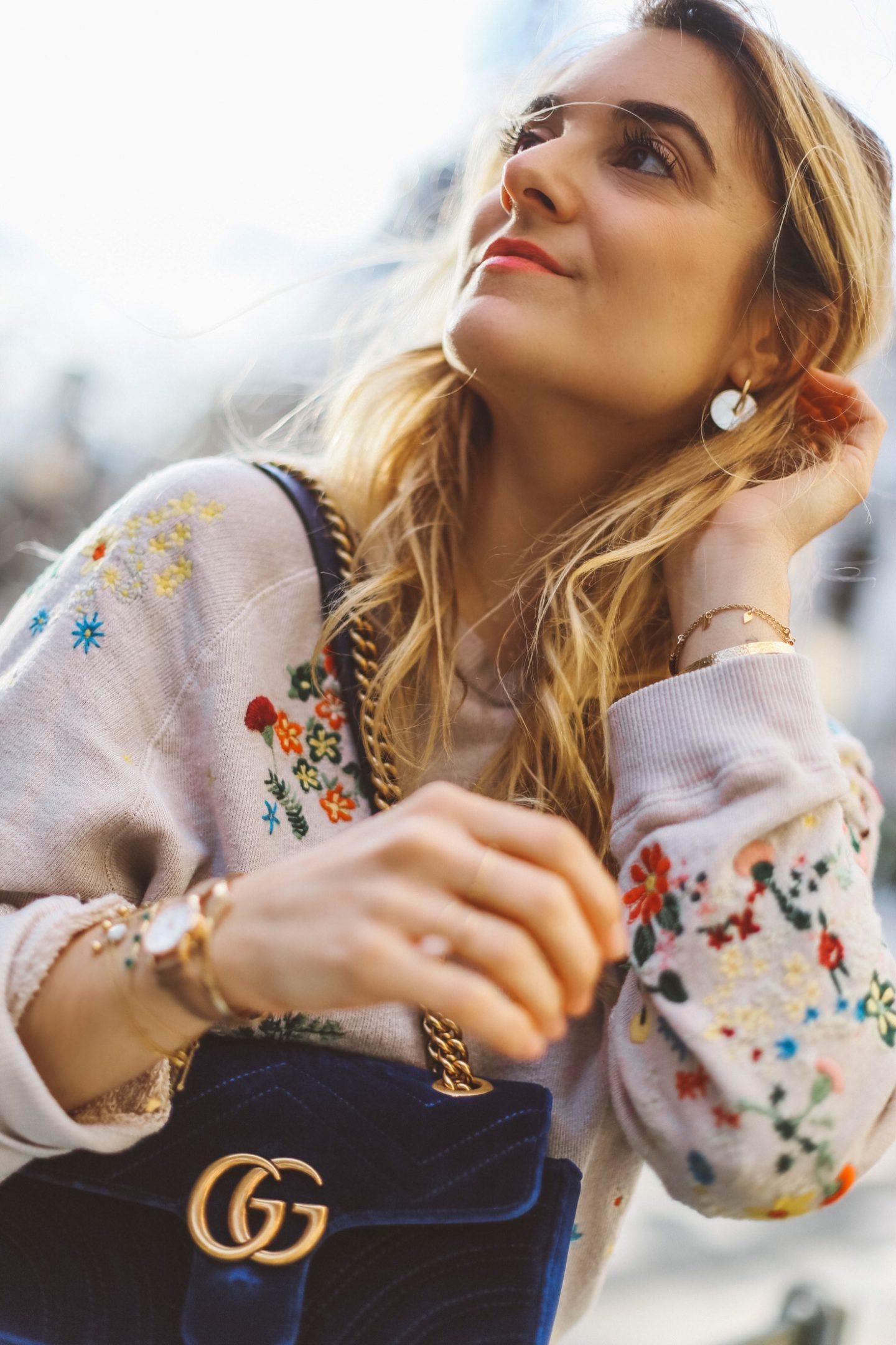 Boucle d'oreilles & Other Stories - Blondie Baby blog mode et voyages