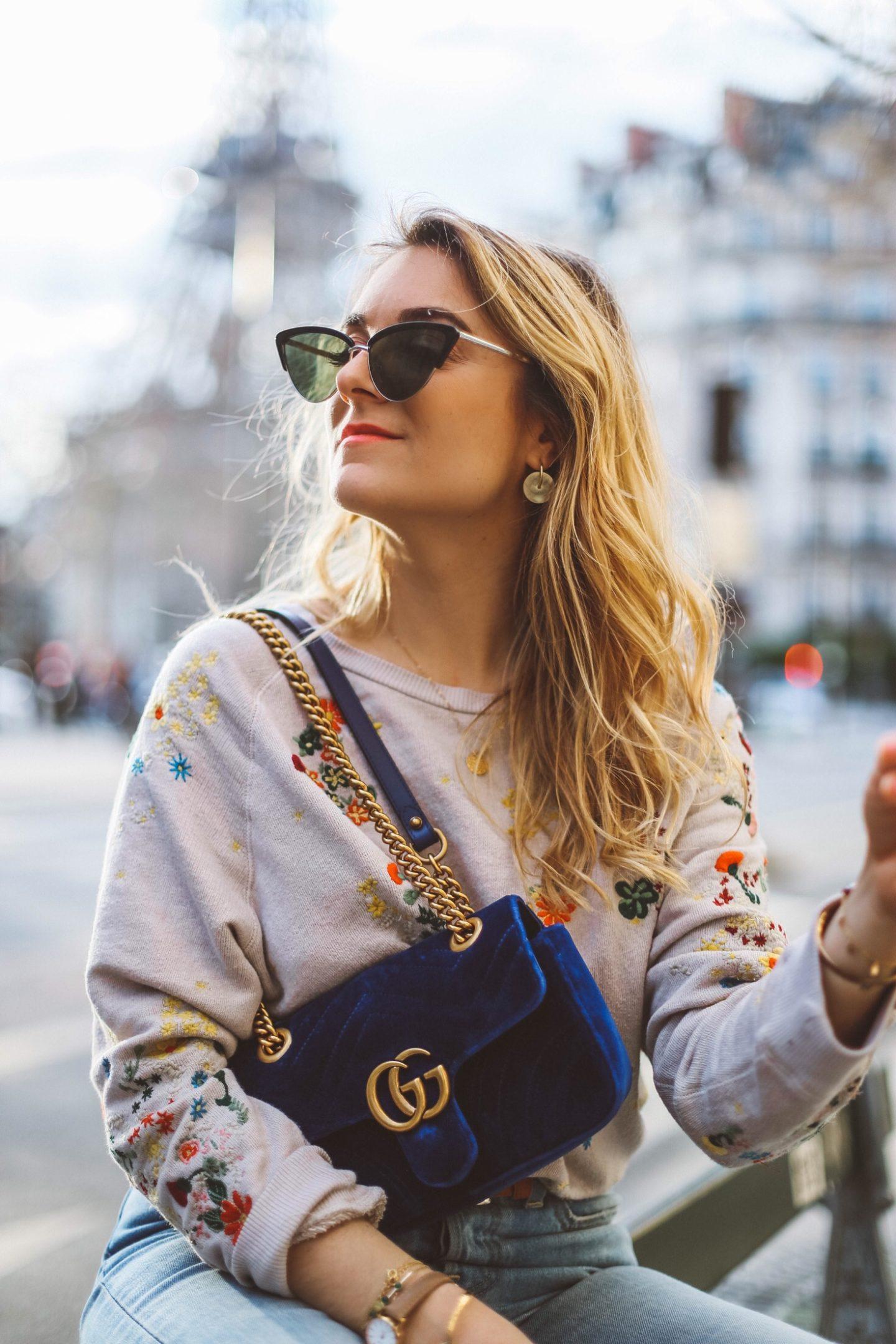 Cat eye lunettes - Blondie Baby blog mode et voyages