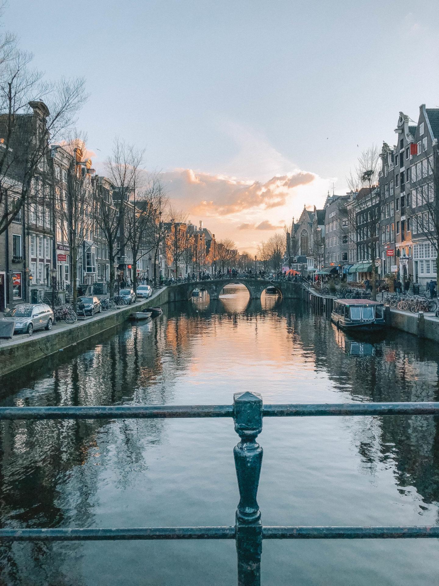 Amsterdam rues - Blondie baby blog mode et voyages