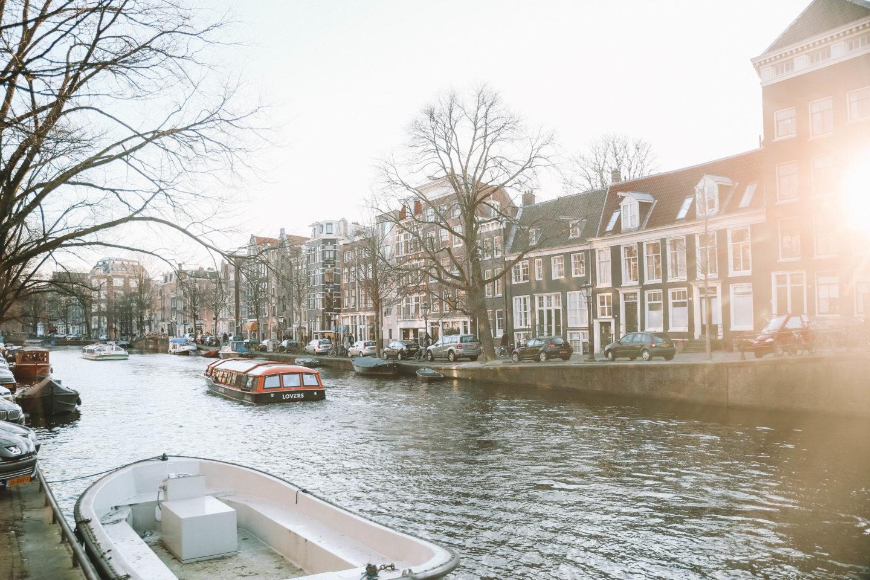 Sunset Amsterdam - Blondie baby blog mode et voyages