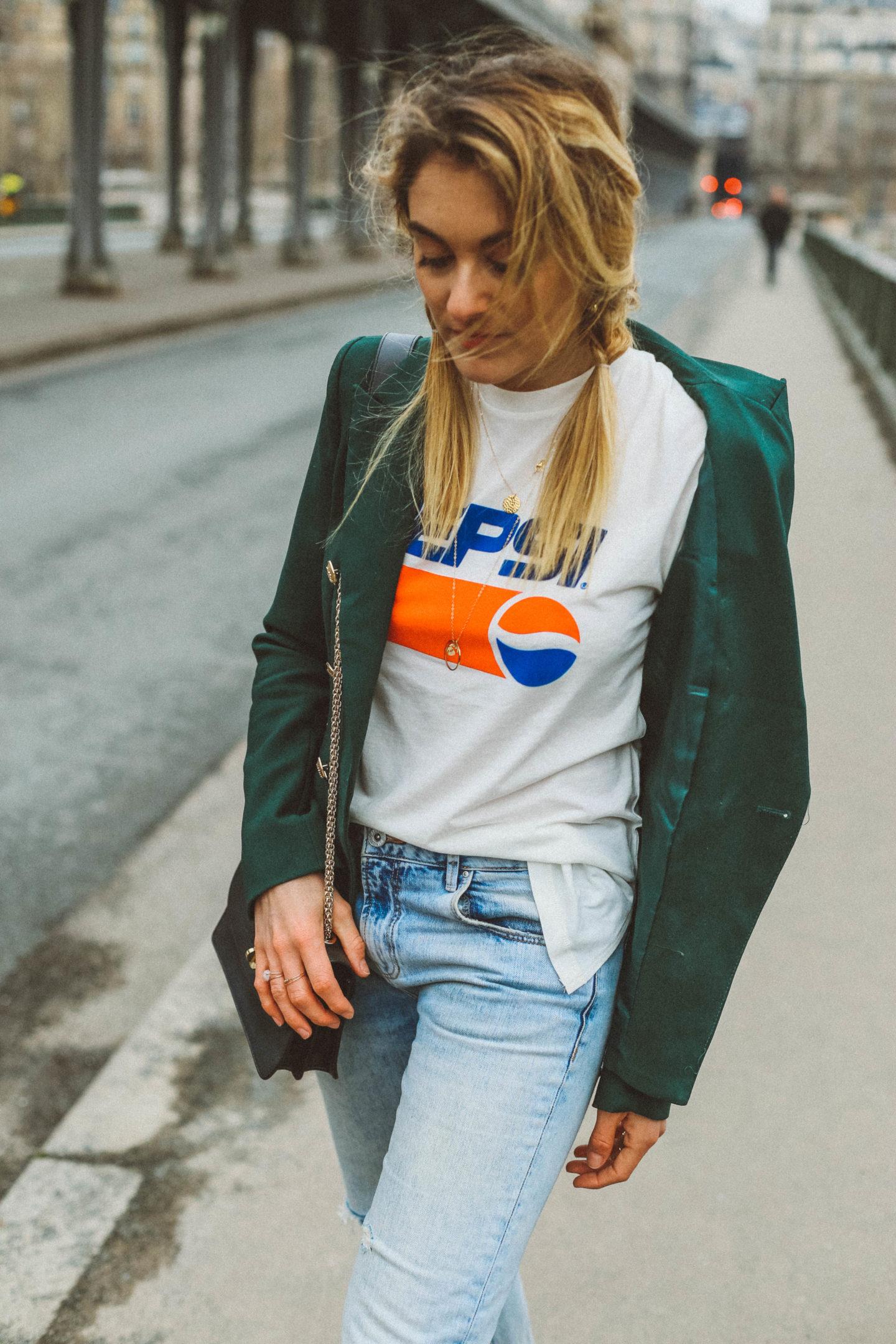 Jean Zara - Blondie Baby blog mode et voyages