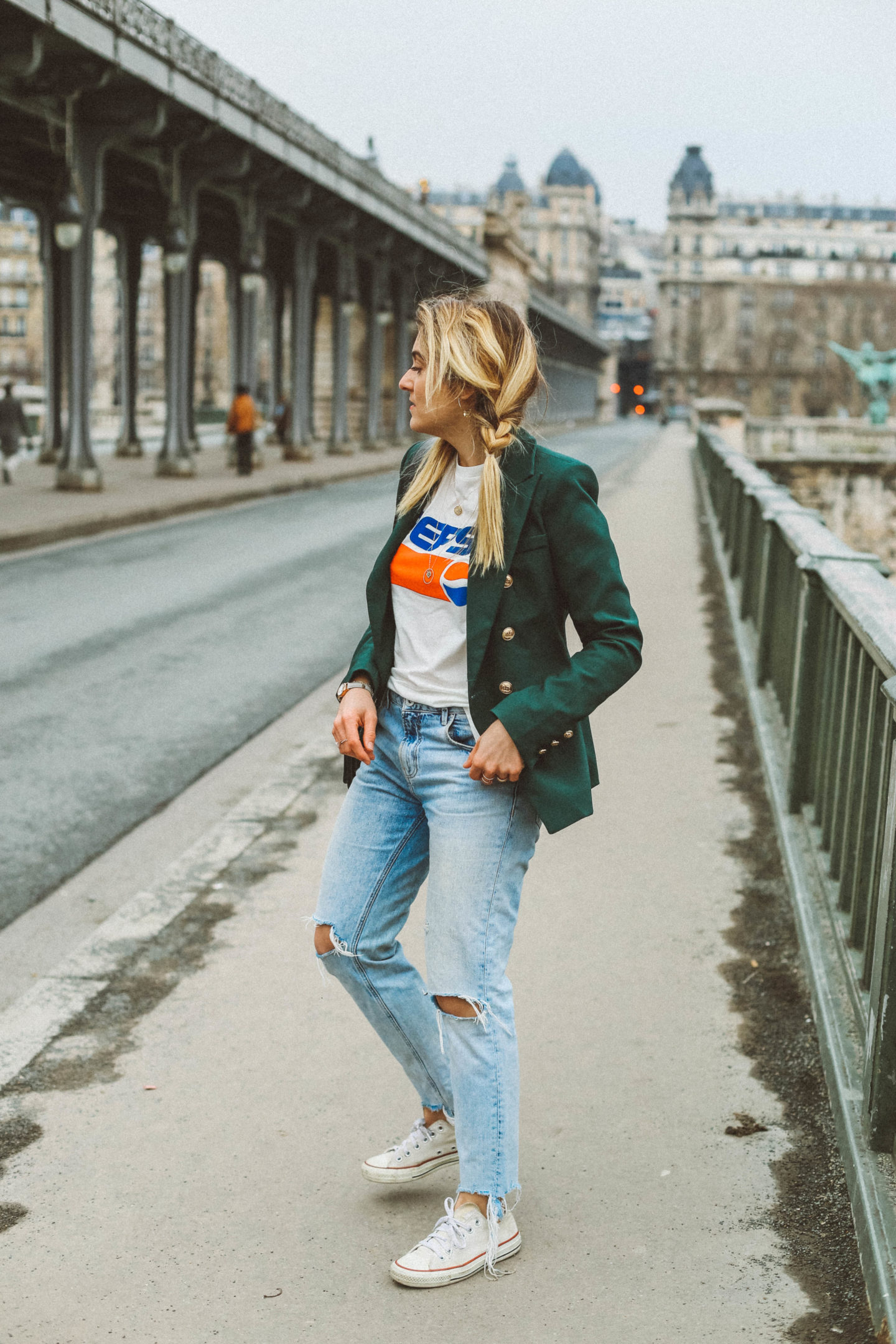 Style 90s - Blondie Baby blog mode et voyages
