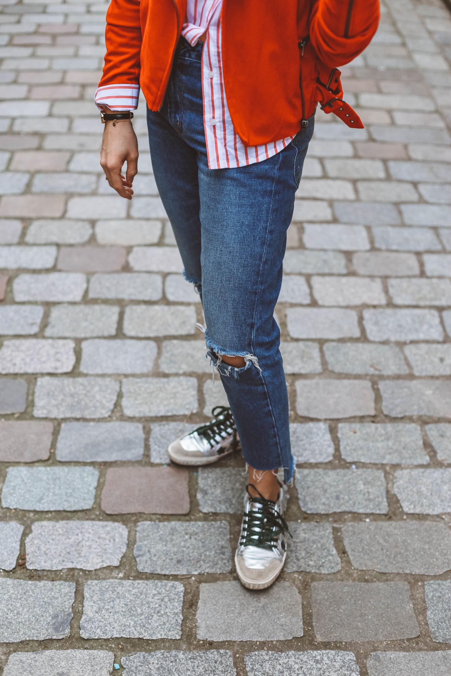 Baskets Ash - Blondie Baby blog mode et voyages