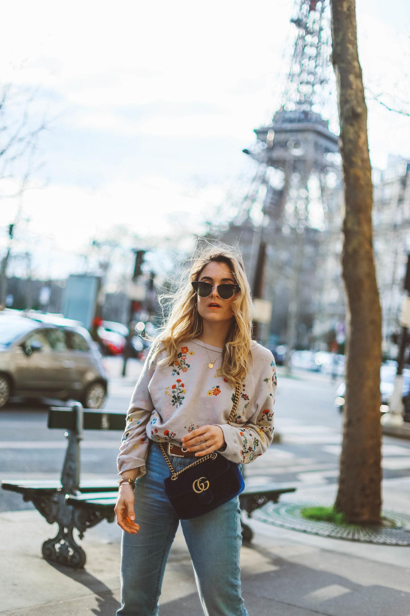 Paris Tour Eiffel - Blondie Baby blog mode et voyages