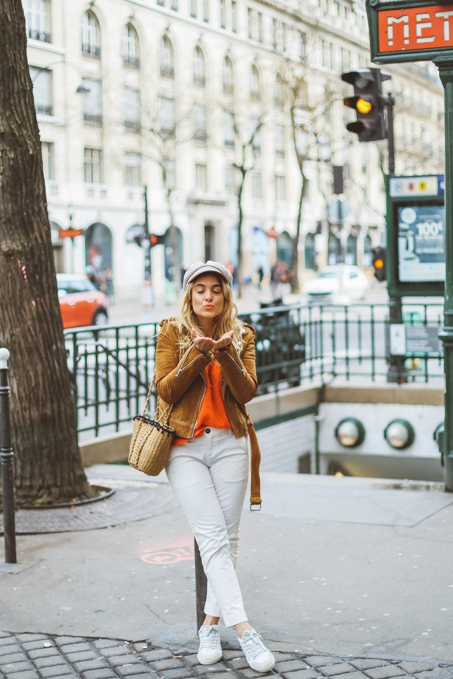 Look Parisien - Blondie Baby blog mode et voyages