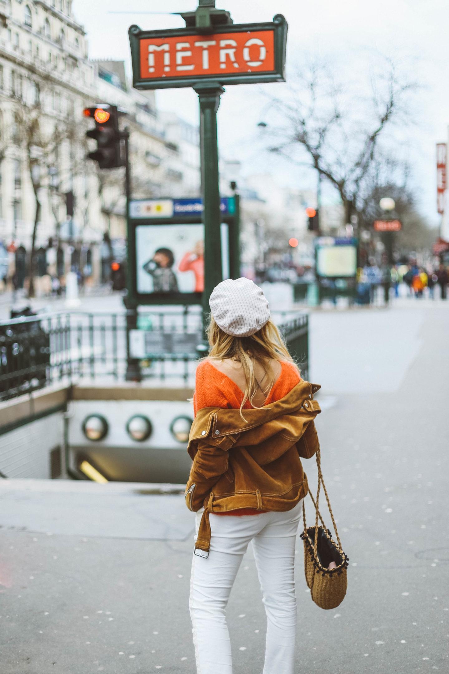 Panier Osier MKT Studio - Blondie Baby blog mode et voyages