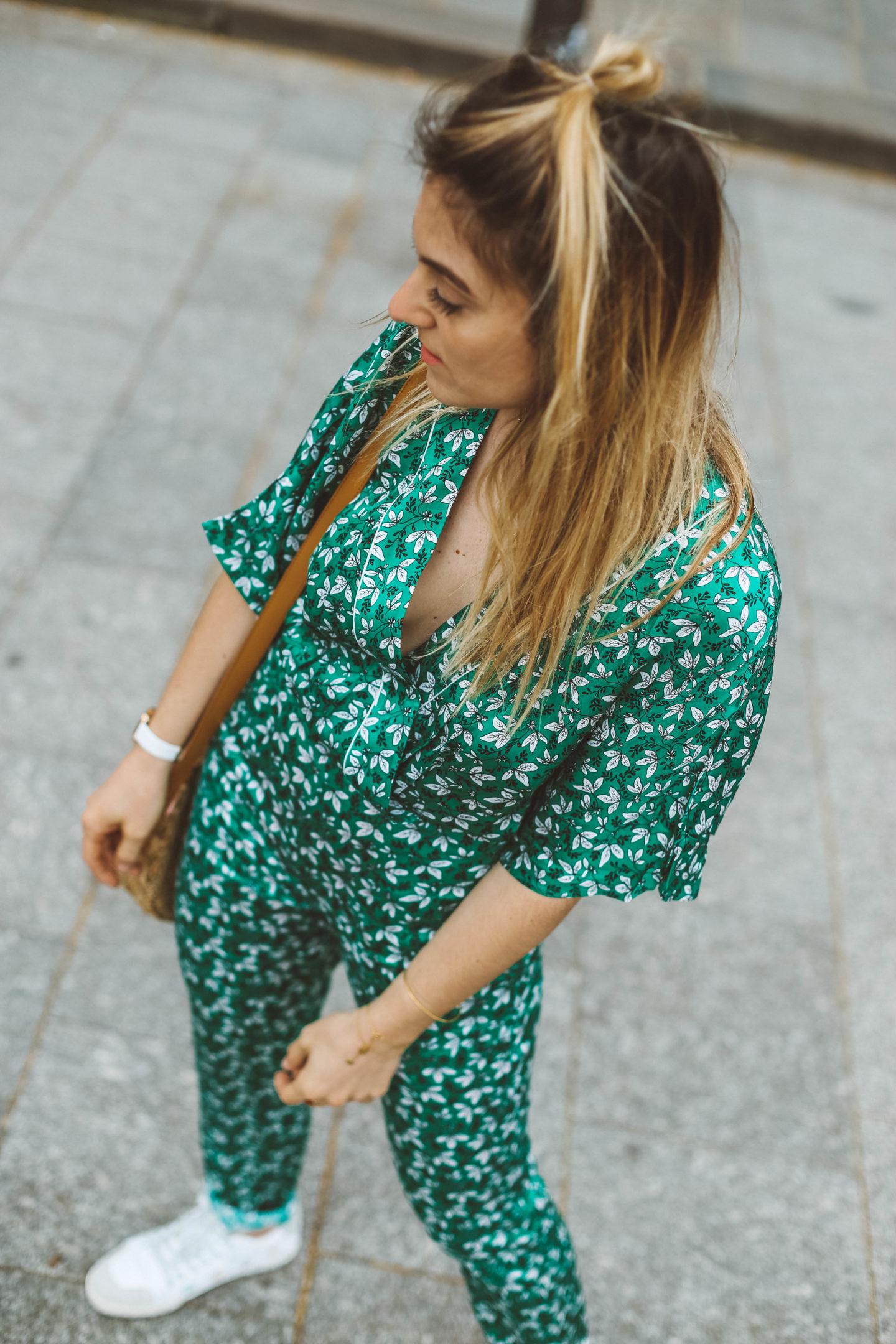 Kimono à fleurs Idano - Blondie Baby blog Paris mode et voyages