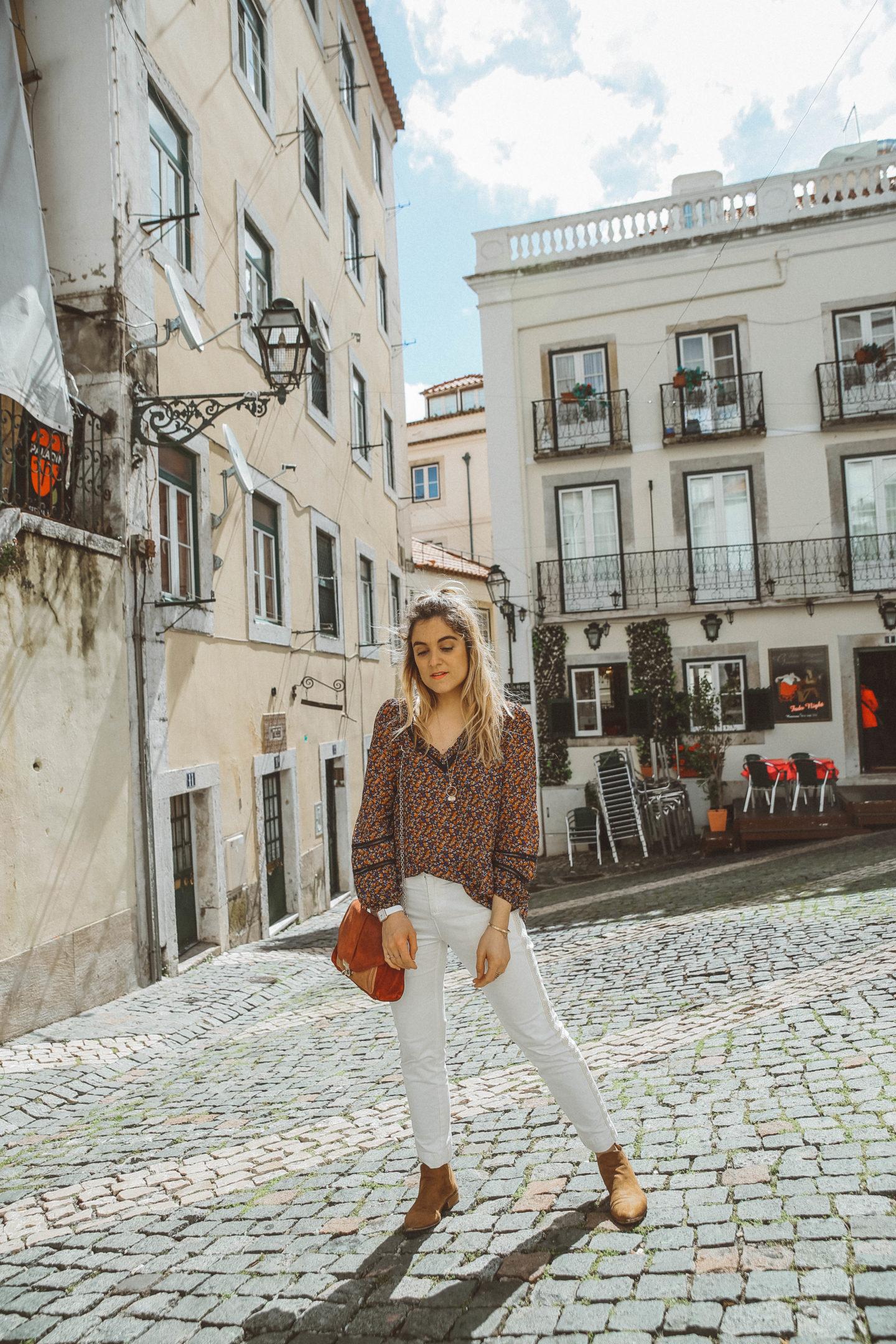 Place du Fado Lisbonne - Blondie Baby blog mode Paris et voyages