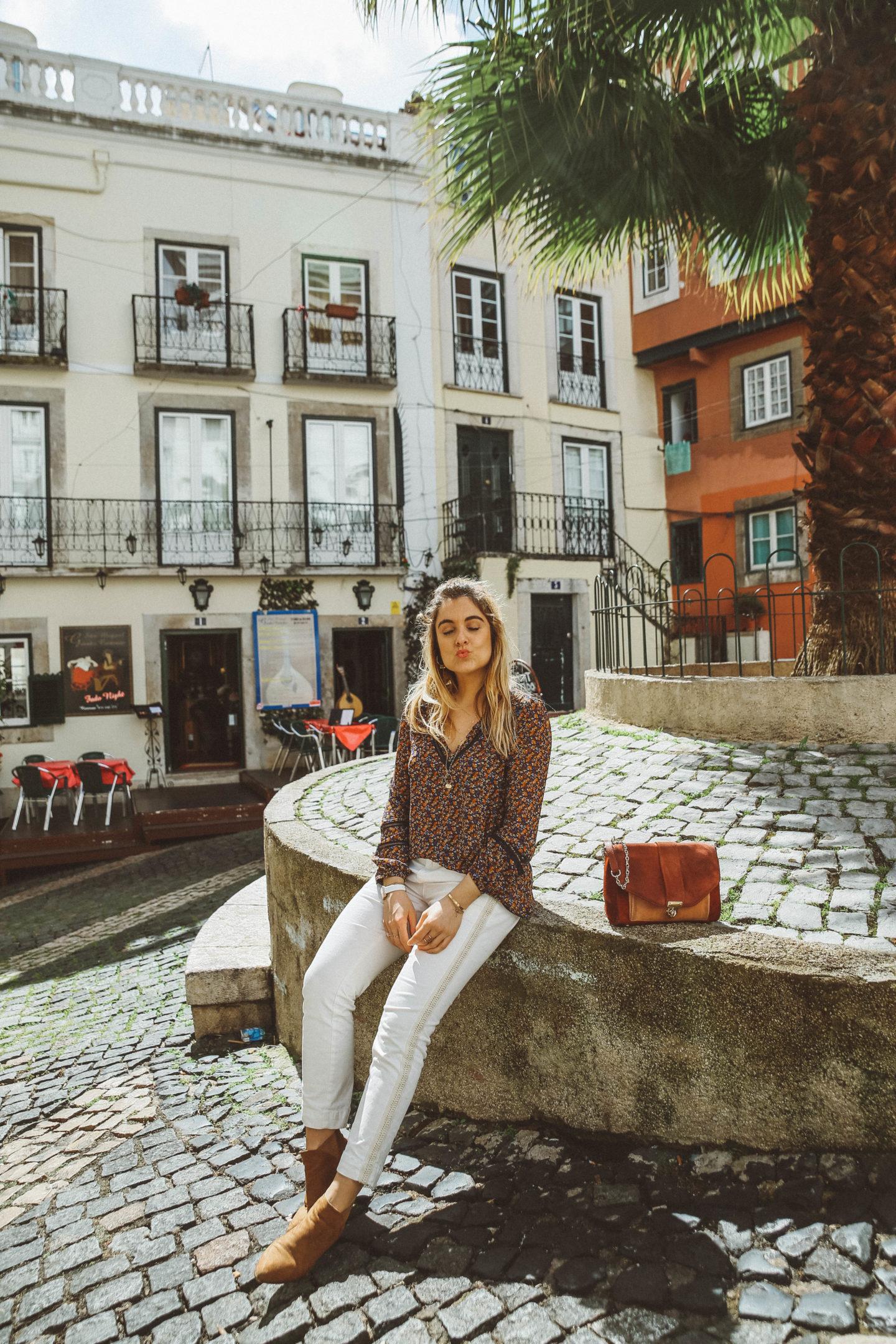 Sac Tiger Sézane - Blondie Baby blog mode Paris et voyages