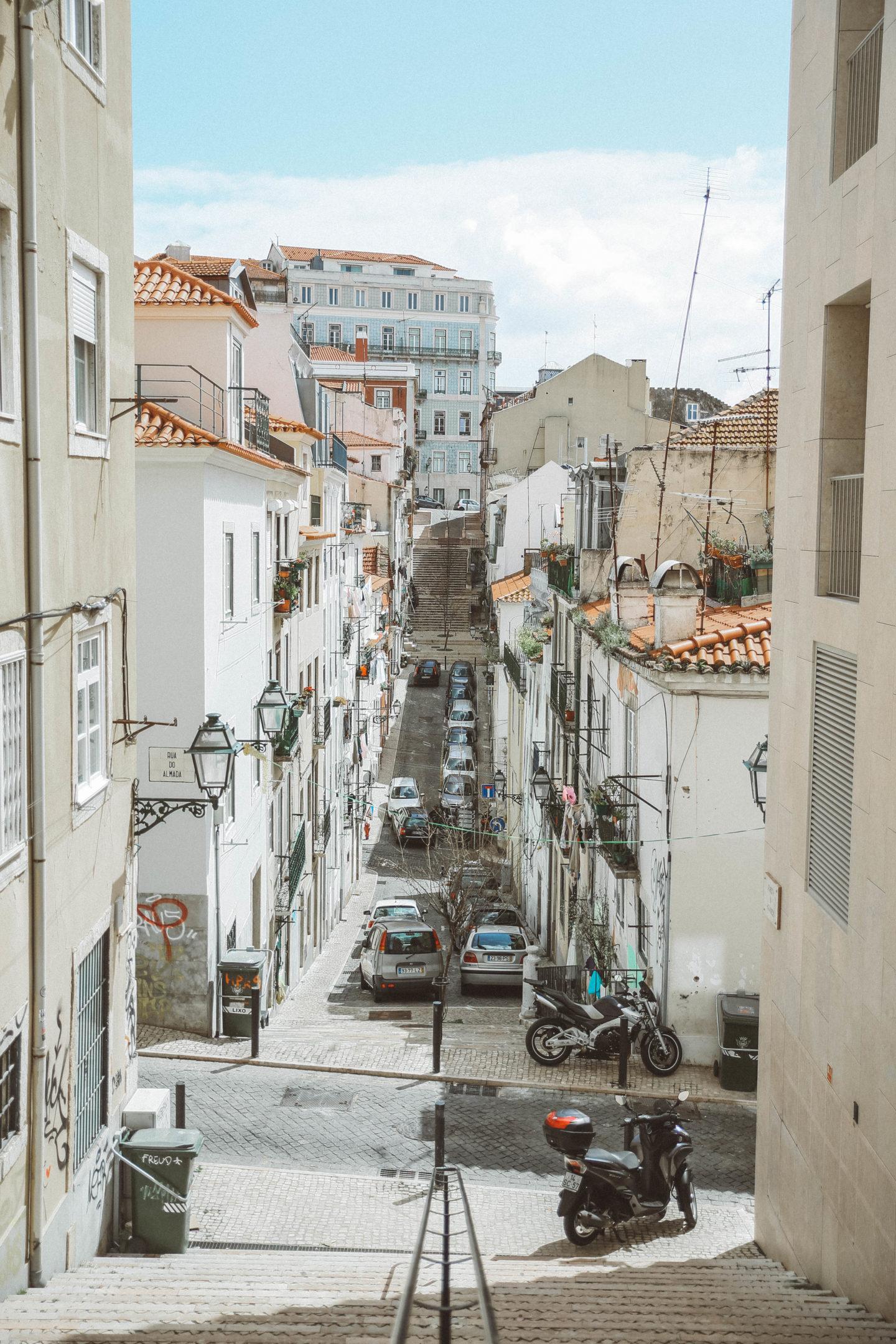 Quartier du Chiado Lisbonne - Blondie Baby blog mode Paris et voyages