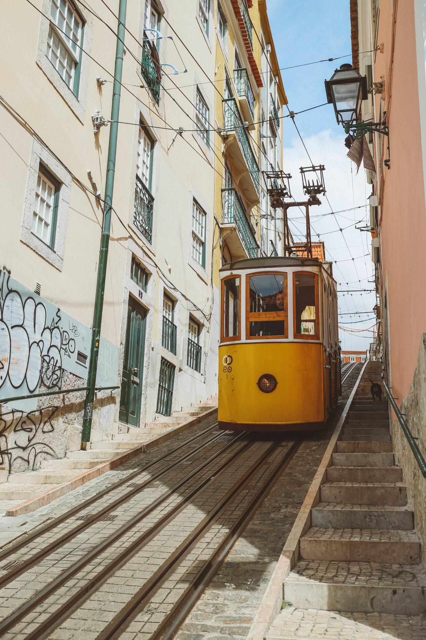 Tram 28 Lisbonne - Blondie Baby blog mode Paris et voyages