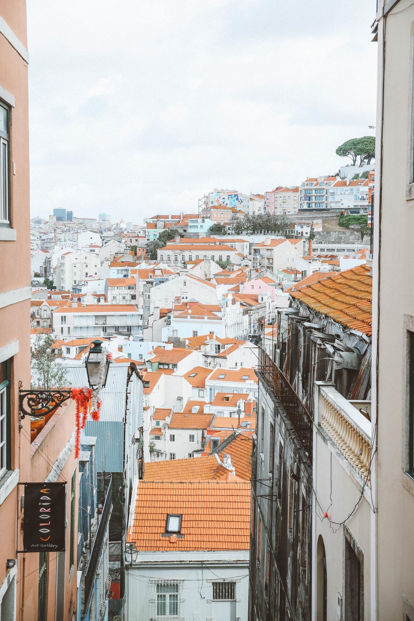 Alfama Lisbonne - Blondie Baby blog mode Paris et voyages