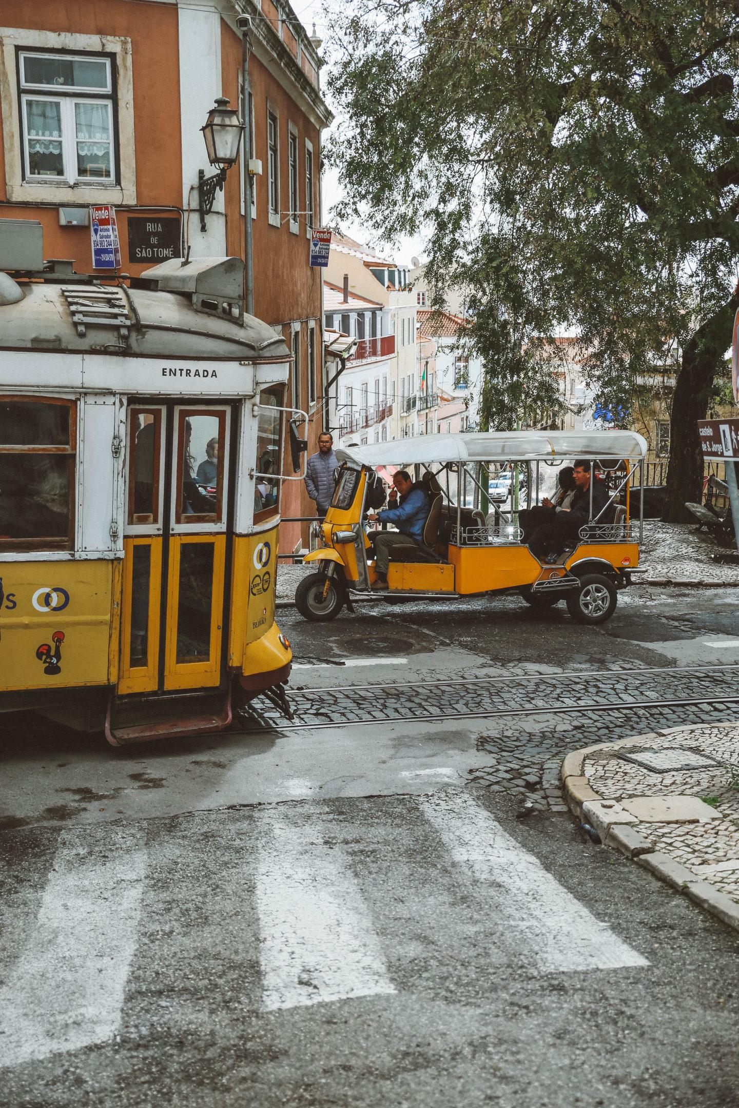 Tram Lisbonne - Blondie Baby blog mode Paris et voyages