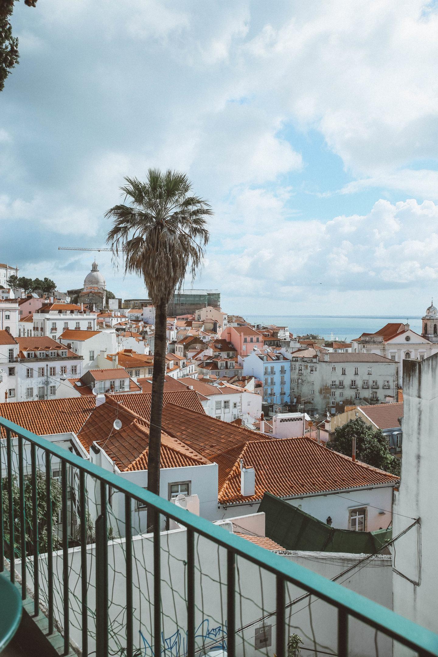Vue Lisbonne - Blondie Baby blog mode Paris et voyages