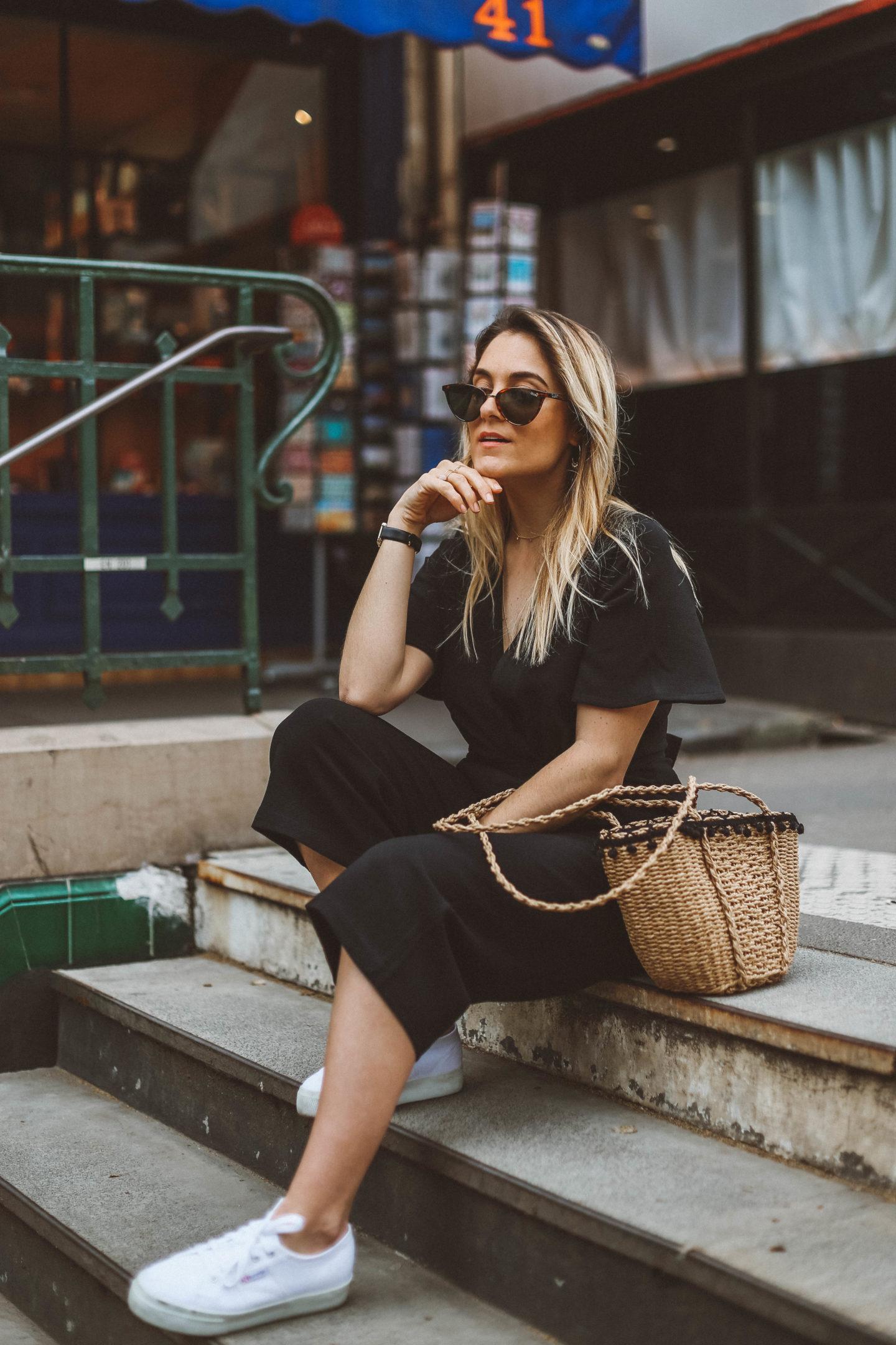 Baskets Superga - Blondie Baby blog mode Paris et voyages