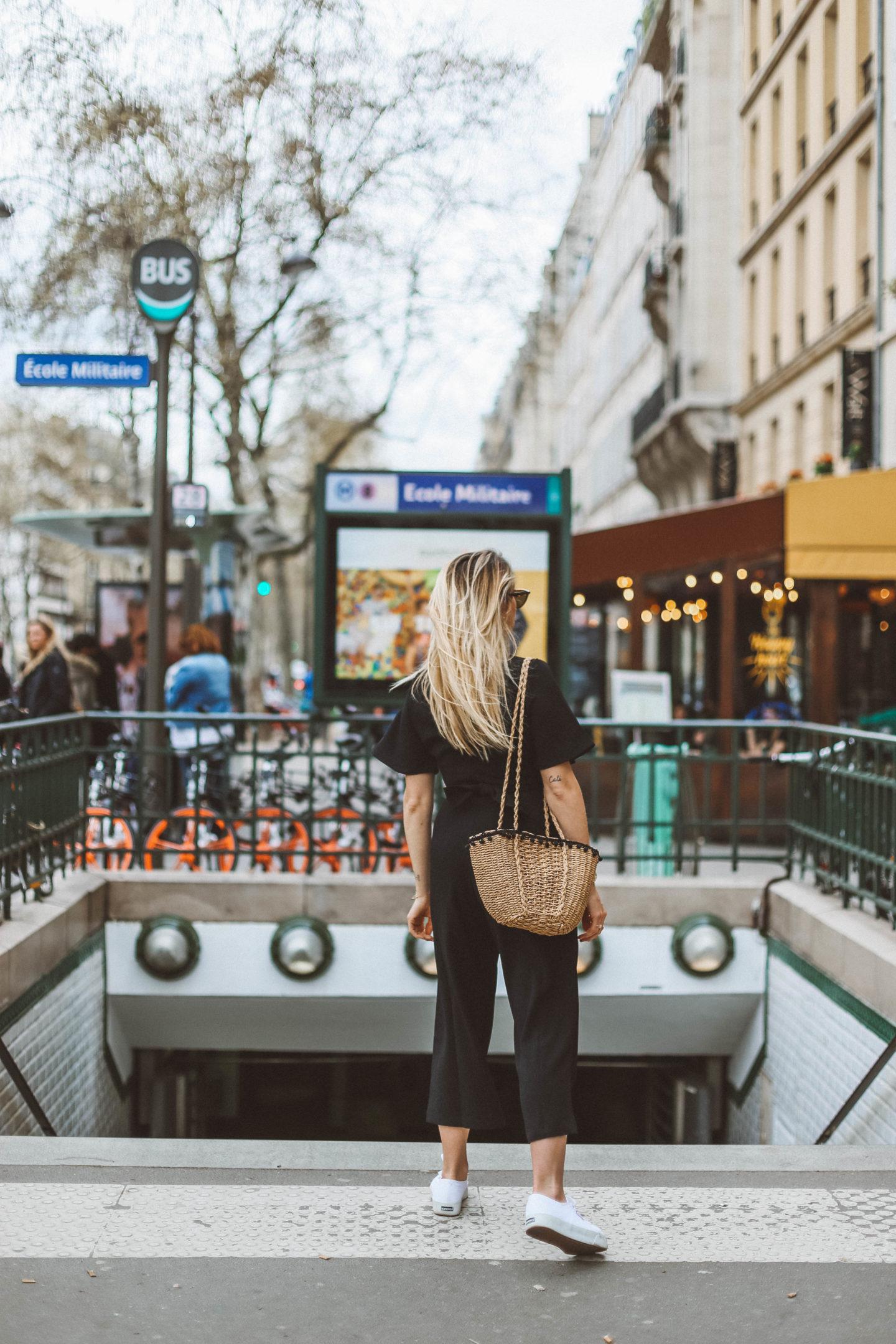 Panier osier - Blondie Baby blog mode Paris et voyages