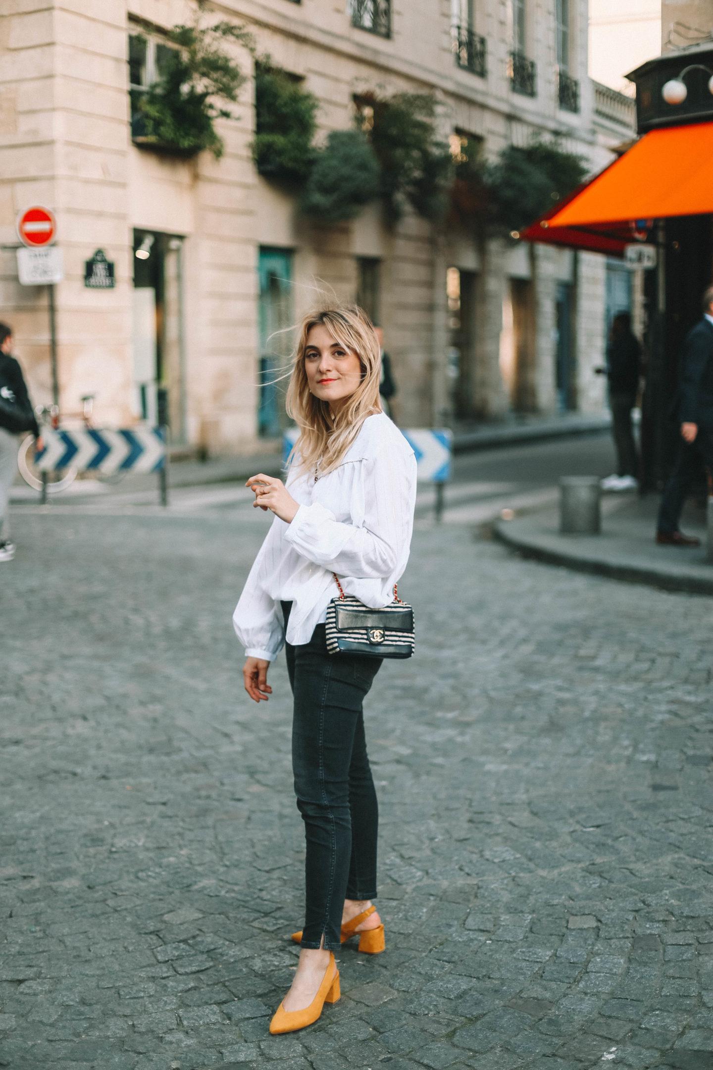 Esarpins Stradivarius - Blondie Baby blog mode Paris et voyages